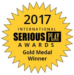Médaillé d'or du 2017 International Serious Play Awards